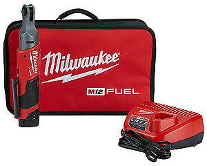 Milwaukee Electric Tool 2556 21 M12 1 4 Ratchet High Torque Kit