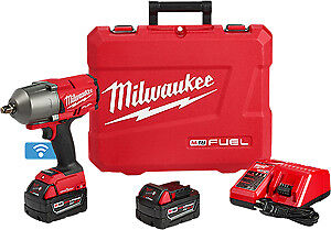 Milwaukee Electric Tool 2863 22 M18 One Key High Torque Impact Wrench Kit
