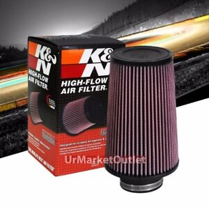 K N 3 76 Mm Universal Rubber Cotton Gauze Cone Round Tapered Air Filter Re 0810