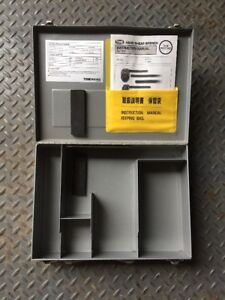 Tool Box Manual Only For Tone Lejeune Hand Shear Wrench S 20ha Or S 24ha