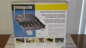 Steelmaster 225106001 Alarm Alert Steel Cash Drawer W key Push button Release