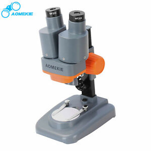 Stereo Microscope 40x Portable Binocular Eyepieces Pcb Repairing Soldering Tool