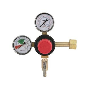 Taprite Co2 T742hp Commercial Dual Gauge Primary Regulator Draft Beer Soda