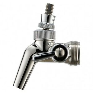 Perlick Flow Control Faucet Stainless Steel 650ss Bar Kegerator Draft Beer