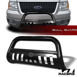 For 2004 2018 Ford F150 Non ecoboost Black Hd Bull Bar Brush Bumper Grille Guard