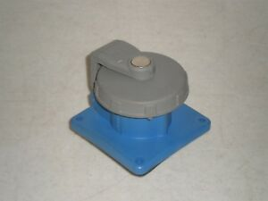 Hubbell 420r9w Receptacle Pin And Sleeve 20a 3 Phase 250 Vac Free Shipping