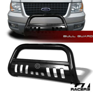 For 2003 2017 Ford Expedition Black Bull Bar Brush Push Bumper Grille Guard