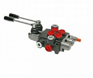new 2 Spool Hydraulic Control Valve Double Acting 13 Gpm 3600 Psi