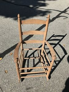 Shaker Childs Rocking Chair Rocker With Webbing