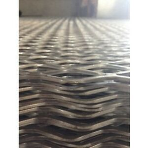 Expanded Steel 3 4 13 Flat 24 X 72