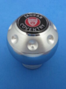 Jaguar Coventry Auto Car Logo Aluminum Gear Shift Knob 243