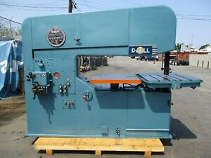 60 Doall Model 60 3 Vertical Band Saw 40 9000 Fpm Loaded With Options