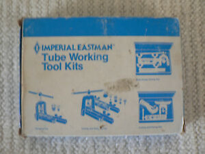 Imperial Eastman Flaring And Swaging Tool No 275 fs W extra Tools