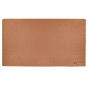 24 x14 Leather Desk Pad Executive Blotter And Protective Mat Mouse Pad Brown