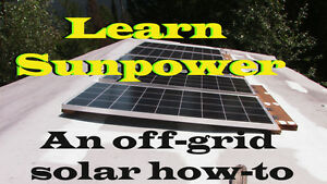 Learn To Setup Up A Complete Solar Power System Dvd