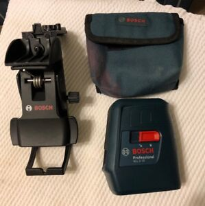 Bosch Professional Gll 3 15 Self leveling 3 Line Laser Level free S