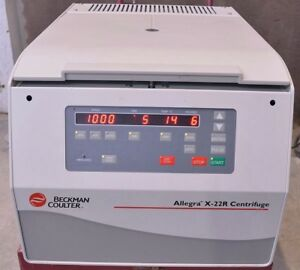 Beckman Coulter Allegra X 22r Benchtop Refrigerated Centrifuge
