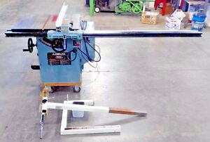 Delta 36 812 With 43 Unifence 10 Table Saw W 52 Rip Fence Biesemeyer Guard
