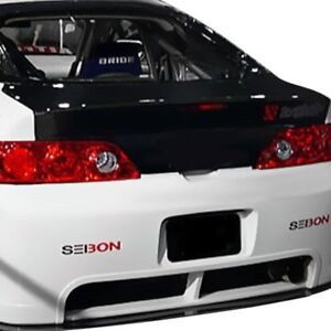 For Acura Rsx 2002 2006 Seibon Style Gloss Carbon Fiber Trunk Lid