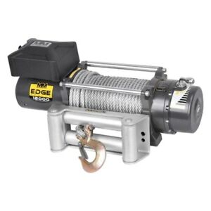 Mean Mother 12 000 Lbs Edge Series Electric Winch W Steel Cable