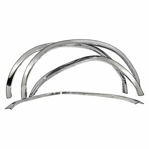 For Toyota Tacoma 1995 2004 Carrichs Ftto202 Polished Front Rear Fender Trim