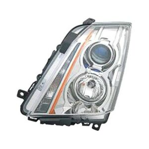 For Cadillac Cts 2008 2015 Replace Gm2502309n Driver Side Replacement Headlight