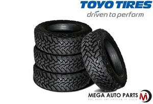 4 X New Toyo Open Country Mt 37x12 50r22lt F 12 127q Tires