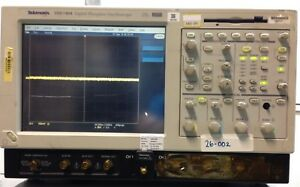 Tektronix Tds7404 4m 4 channel Oscilloscope 4ghz 20 Gs s