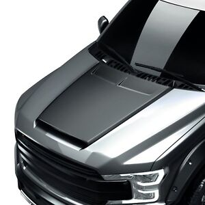 For Ford F 150 2018 2019 Air Design Super Rim Street Series Black Hood Scoop