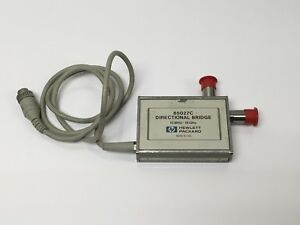 Hp Agilent 85027c Directional Bridge 10mhz 18 Ghz For Scalar Analyzer Tested