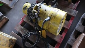 Budgit 1 2 Ton Electric Hoist With Trolley Model Bfh5016