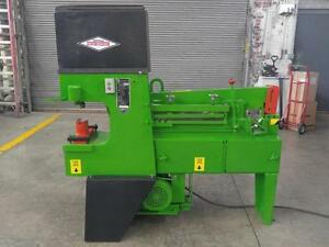 Hydraulic Ironworker 49 Ton Metal Muncher Mm61 Dual Station Punch Notcher Shear