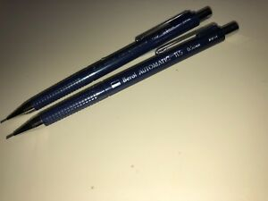 2 NEW  BEROL AUTOMATIC # TL5 0.5 MM QUALITY MECHINCAL LEAD PENCILS HARD TO FIND