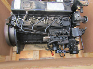 Mahindra 6110 2 4l 4 Cyl 59 Hp Diesel Engine Complete Take Out W Accessories