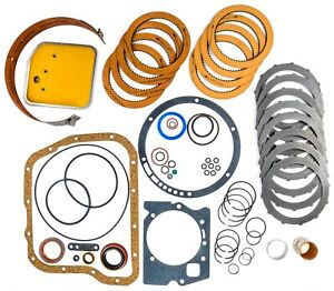 Jegs Performance Products 62114 Transmission Rebuild Kit 1971 1993 Mopar A727 In