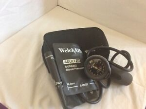 Welch Allyn Tycos Aneroid Trigger Sphygmomanometer And Adult Blood Pressure Cuff
