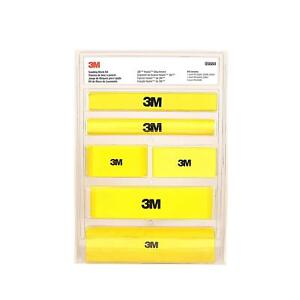 New 3m Hookit Sanding Block Kit For Auto Body Abrasives 6 Blocks Sets 05684