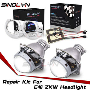 For Bmw E46 Zkw D2s Bi xenon Headlight Repair Kit Hid Projector Lens Replacement