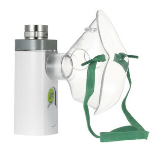 Portable Ultrasonic Nebulizer Respirator Nebuliser Humidifier Cool Mist Inhaler