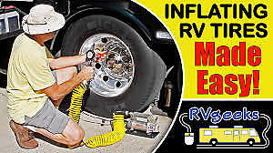 Tire Inflator And Sealer For Rvs