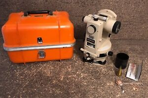 Pentax Gt 6b Glass Circle Surveyors Transit Theodolite W Case