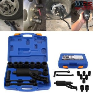 Hd Torque Multiplier 1 Lug Nut Remover Labor Saving 8 Sockets Wrench Rv Truck