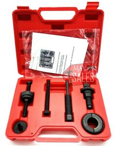 Power Steering Pump Pulley Puller Remover Installer Tool Kit Removal For Gm