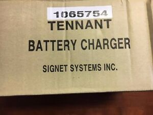 Tennant Tn 1065754 Charger 12vdc 16a 120 240vdc li ion Brand New