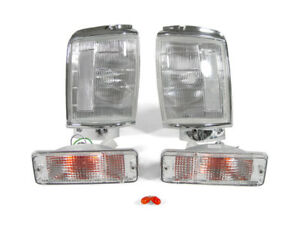 Depo Clear Corner bumper Signal Lights For 1984 1986 Toyota Pickup Truck 2wd 4wd