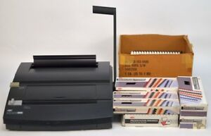 Gbc Docubind Tl200 Manual Twin Loop Wire Binding System W Box Assorted Bindings