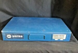 Large Napa Metal 12 Hole Storage Bin Tray For Nuts Bolts
