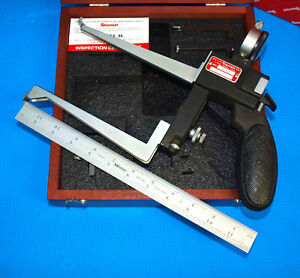 Starrett 1175 Groove Gage With Extra Length Jaws And Many New Accessories