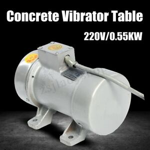Concrete Vibrator For Concrete Vibrating Table Concrete Vibrator Motor 220v New