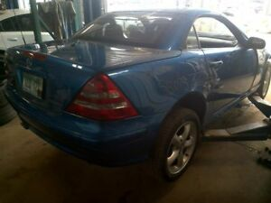 Manual Transmission 171 Type Slk300 Fits 01 02 05 11 Mercedes Slk 2252437